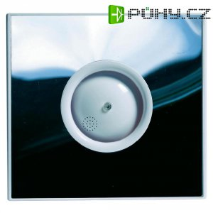 Vestavný ventilátor Protector PROAIR Hygro, 230 V, 75 m3/h, 14 x 15 cm, leštěný nerez