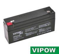 Baterie olověná 6V/ 3,3Ah VIPOW bezúdržbový akumulátor