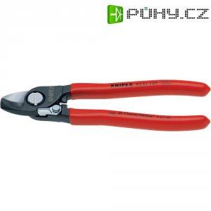 Nůžky na stříhání kabelů s rozevírací pružinou Knipex 9521 165, 165 mm