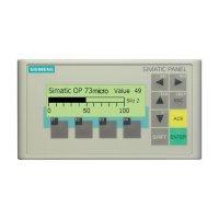 PLC rozšíření displeje Siemens SIMATIC OP 73micro 6AV6640-0BA11-0AX0, 160 x 48 px