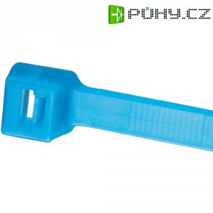 Stahovací pásek z TEFZELu Panduit PLT4H-L76, 371 x 7,6 mm, modrá