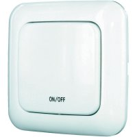 Bezdrátový tlačítkový vypínač Home Easy HE882, max. 1000 W