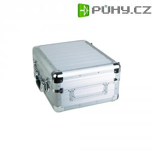 Kufr na přehrávač médií Zomo CDJ-1, 420 x 350 x 210 mm, stříbrná