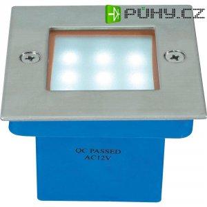 Vestavné LED podlahové svítidlo s 9 LED, 1 W, bílé světlo