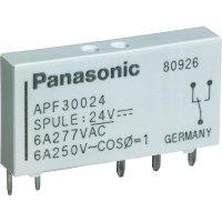 Výkonové relé PF 6 A Panasonic APF30224, APF30224, 6 A , 250 V/AC , 1500 VA