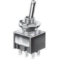 Mini kolébkový přepínač Marquardt 9040.0201, 30 V/DC, 4 A, 2x zap/zap, 1 ks
