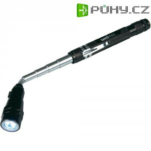 Teleskopická LED svítilna s magnetem, Unitec 77893