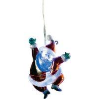 Akrylátový Santa Klaus Konstsmide, 7 x 10 cm, 1 bílá LED