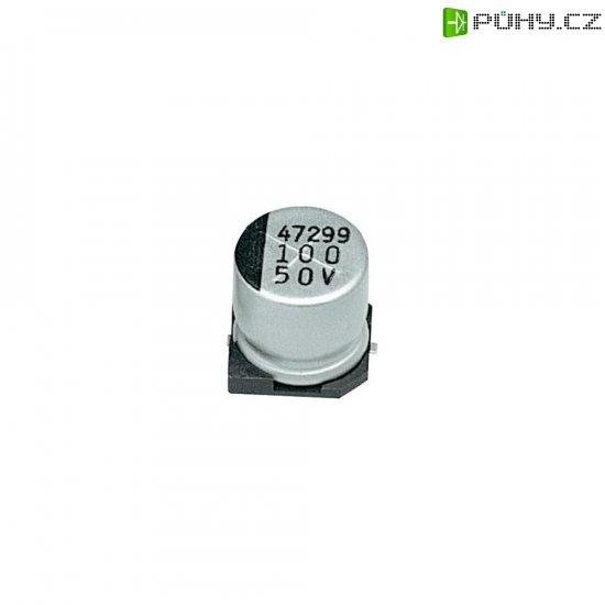 SMD kondenzátor elektrolytický Samwha CD1E227M08010VR, 220 µF, 25 V, 20 %, 10 x 8 mm - Kliknutím na obrázek zavřete