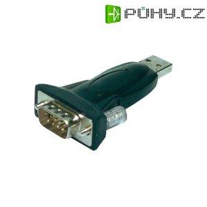 Adaptér VGA 9p. USB 2.0 LogiLink AU0002B, černý