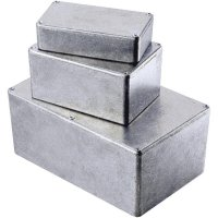 Tlakem lité hliníkové pouzdro Hammond Electronics 1590WLLBBK, (d x š x v) 50 x 50 x 25 mm, černá