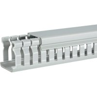 Elektroinstalační lišta Hager, BA6 60040, 47x64 mm, 2 m, šedá