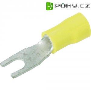 Izolovaná kabelová vidlice, M4, 2.7 - 6.6 mm²