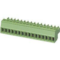Konektor šroubový Phoenix Contact MC 1,5/ 3-ST-3,81 (1803581), 160 V/AC, AWG 28-16, zelený