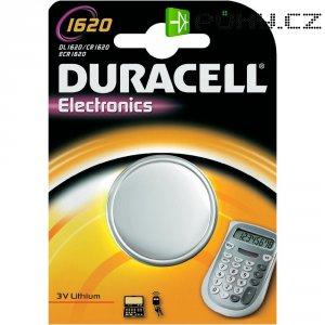 Knoflíková baterie Duracell CR1620, lithium, DUR030367