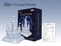 Hlavolam 3D krystal puzzle Zámek