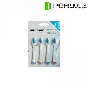 Náhradní hlavice pro ultrazvukový zubní kartáček Grundig TBB79, střední, 4 ks