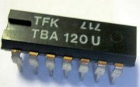 TBA120U /A220D/ mf zesilovač a demodulátor