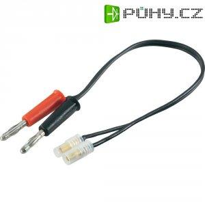 Napájecí kabel s bánanky 3,5 mm zástrčka/zásuvka Modelcraft, 250 mm, 1,5 mm²