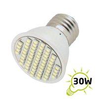 Žárovka LED E27/230V (60SMD) 3W - bílá