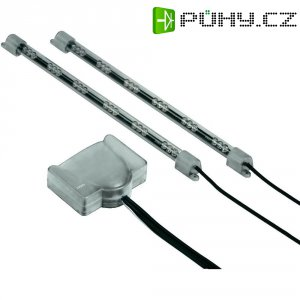 Mini LED osvětlení Hama, 23 cm, reagující na hudbu, 3 barvy, 2 ks