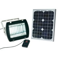 Svítidlo LED - solární sada s reflektorem 10W
