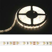 LED pásek 3528 60LED/m IP68 4.8W/m bílá teplá (1ks=cívka 5m) voděodolný