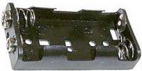 Držák baterie 2xR6/AA/UM3 + klips