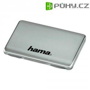 Pouzdro Hama na paměťové karty, stříbrné