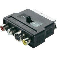Scart/Cinch + S/VHS adaptér Belkin F8V3017cp
