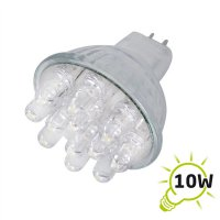 Žárovka LED MR11/12VAC (12x) - bílá