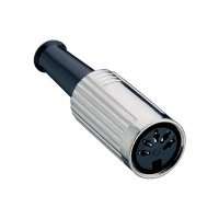 DIN spojka Lumberg 0121 03, 3 pin