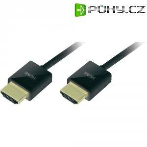 HDMI kabel, zástrčka/zástrčka, černý, 3 m
