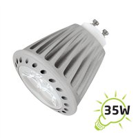 Žárovka LED GU10/230V 4W bílá teplá