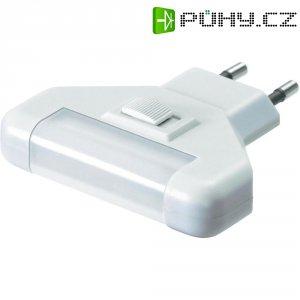 Noční LED svítidlo s vypínačem GEV LIV, 006881, 5x 0,2 W, teplá bílá/bílá