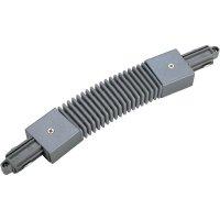 Pružná spojka SLV pro 1fázový HV kolejnicový systém 143112, 230 V, stříbrná/šedá