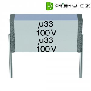 Foliový kondenzátor Epcos MKT B32561-J1105-K, 1 uF, 100 V/AC, 10 %