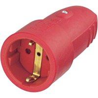 Zásuvka na kabel, 4004282401759, IP20, gumová, 230 V, 16 A, červená