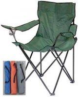 Kempingová židle skládací - rybářské křesílko, různé barvy