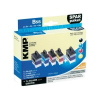 Cartridge KMP B5S, 1034,0005, černá/cyan/magenta/žlutá
