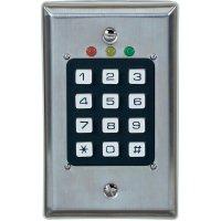 Kódová klávesnice Renkforce, 12 - 24 V/AC/DC, 2kanálová