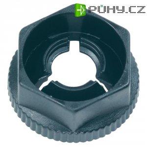 Zasouvací matice M3 PB Fastener KN30, 7 x 8,2 x 4 x 1,5 mm, černá
