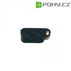 D-SUB kryt Conec 160X10409X, 9pin, černá