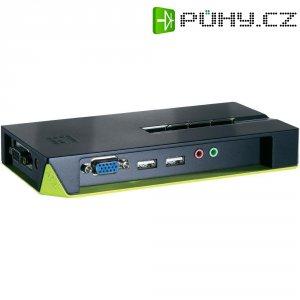 Přepínač KVM LevelOne, 4 porty, USB, desptop