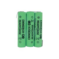 Akupack Emmerich Ready to Use AAA, 800 mAh, 3,6 V