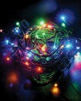 Řetěz vánoční 60 LED 10m 1V01-M vícebarevný