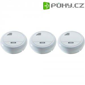Detektor kouře Abus, HSRM10010, 9 V, 3 ks