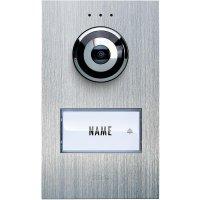 Domácí videotelefon m-e, VDV 610 compact, 1 rodina, nerez