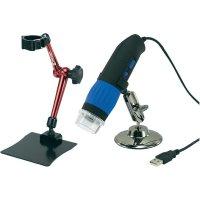 Sada mikroskopové USB kamery, 9 Mpx a 3D stojanu, DP-M14