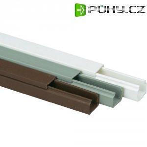 Elektroinstalační lišta Heidemann, 09940, 15x15 mm, 2 m, hnědá